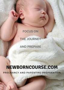 Focus on the Journey and Prepare