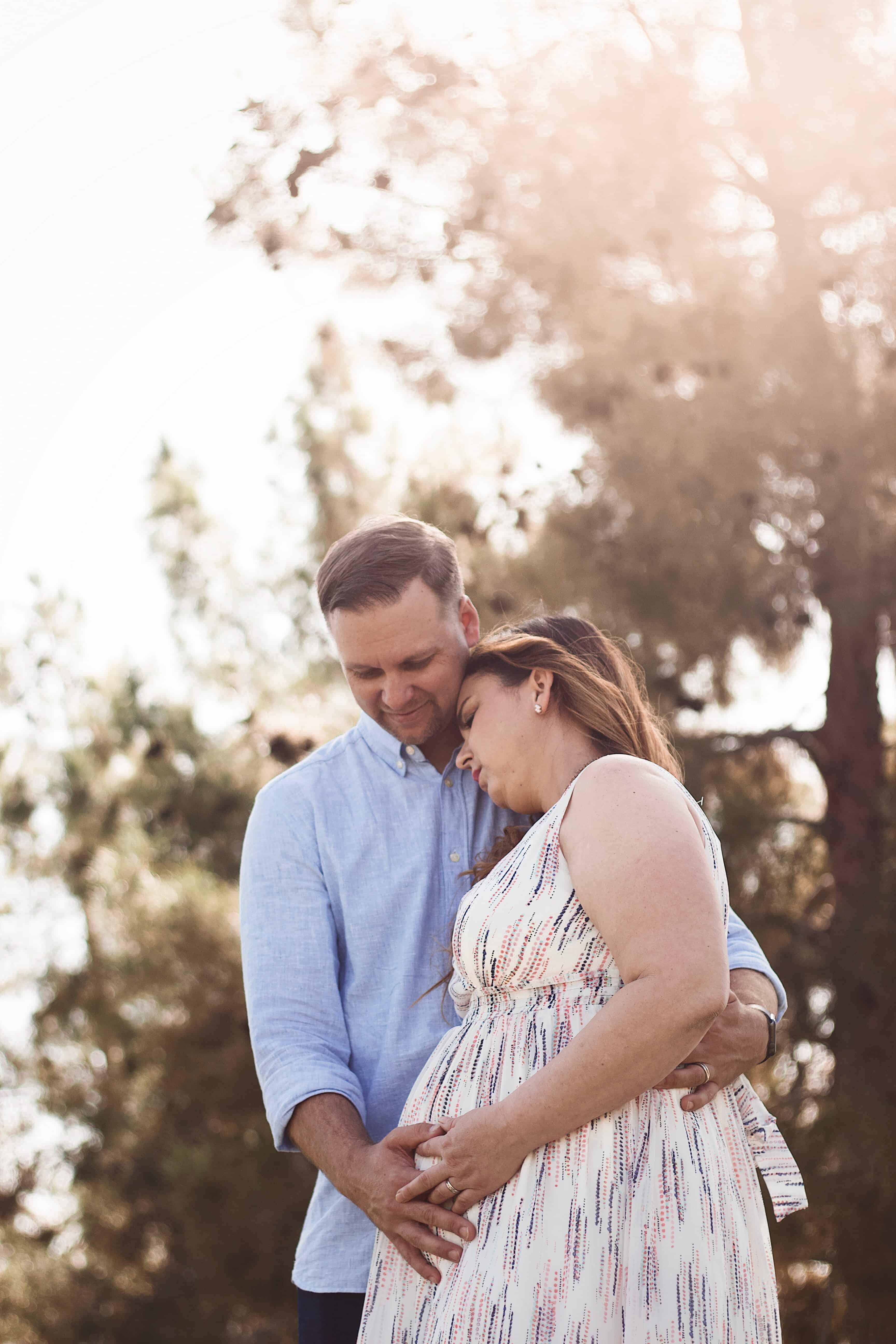 partner's pregnancy